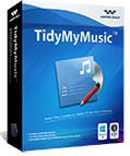Wondershare TidyMyMusic, fix mislabeled songs - box