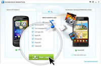 Cell Phone Data Transfer, phone to phone transfer - one click
