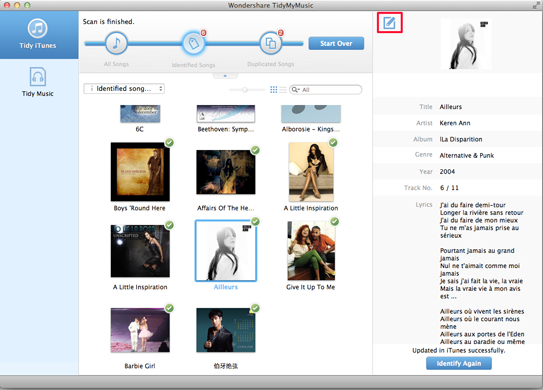 MP3 ID3 Tag Editor, best mp3 tag editor - Editing