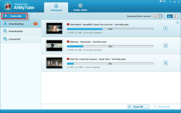 YouTube Downloader, download youtube video free - Main Screenshot